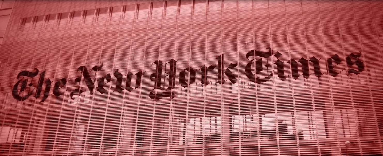 The New York Times Keeps Imitating A Chinese Propaganda Outlet